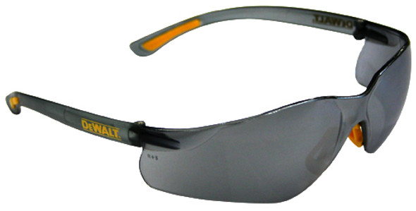 DeWalt Contractor Pro Safety glasses with Silver Mirror Lens DPG52-6D