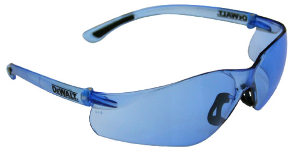 DeWalt Contractor Pro Safety glasses with Blue Lens DPG52-BD