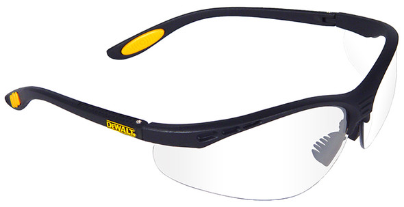 DEWALT Reinforcer Safety Glasses with Clear Anti-Fog Lens DPG58-11D