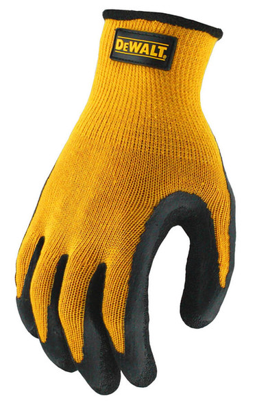 DeWalt Textured Rubber Coated Gripper Gloves - Top