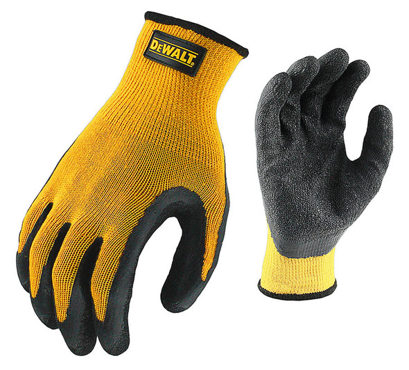 DeWalt Textured Rubber Coated Gripper Gloves DPG70