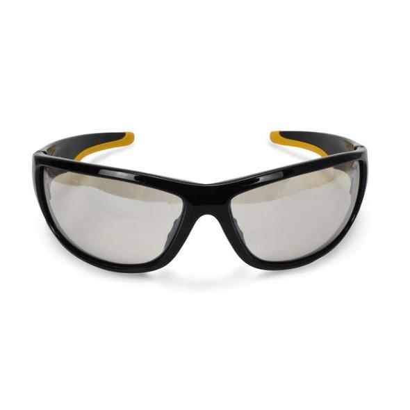 DeWalt Dominator Safety Glasses with Black Frame and Indoor/Outdoor Lens DPG94-9D Front View