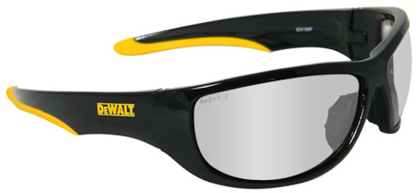 DeWalt Dominator Safety Glasses with Black Frame and Indoor/Outdoor Lens DPG94-9D