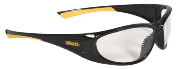 DeWalt Gable Safety Glasses with Black Frame and Clear Lens