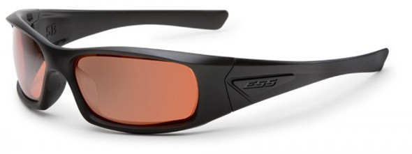ESS 5B Ballistic Sunglasses Black Frame Copper Lenses EE9006-02
