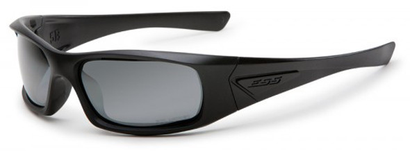 ESS 5B Ballistic Sunglasses Black Frame Smoke Gray Lenses EE9006-06