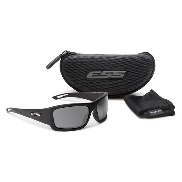 ESS Credence Ballistic Sunglasses Black Frame Smoke Lenses EE9015-04 Kit