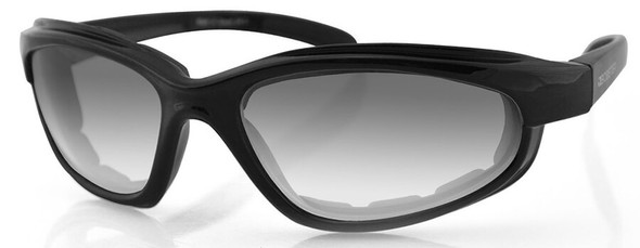 Bobster Fat Boy Sunglasses with Black Frame and Anti-Fog Photochromic Lens