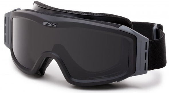 ESS Profile NVG Goggles Black with Clear and Gray Lenses and Stealth Sleeve 740-0499