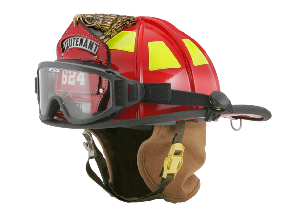 ESS Innerzone 1 NFPA 1971-2013 Fire Goggles 740-0264 Installed On Helmet