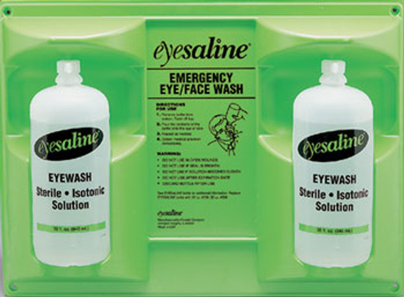 Fend-All Double 32oz Eyewash Station