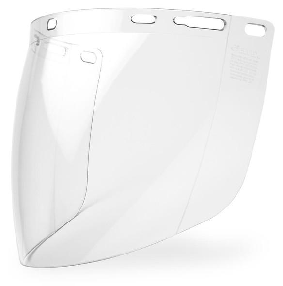 "Elvex Clear Aspherical Polycarbonate Face Shield 8"" x 16"" x 2mm"