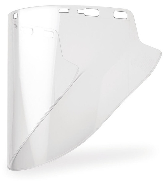 "Elvex Clear Hardcoated Lexan Face Shield 10"" x 18.5"" x 2 mm"