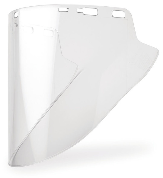 "Elvex Clear Lexan Face Shield 10"" x 18.5"" x 2mm"