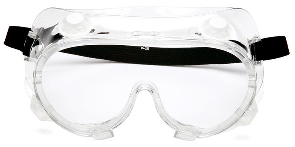 Pyramex G204T Indirect Vent Goggle with Clear Anti-Fog Lens G204T - Front