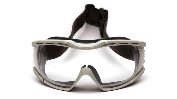 Pyramex Capstone Ballistic Safety Goggles G604T2 Front View