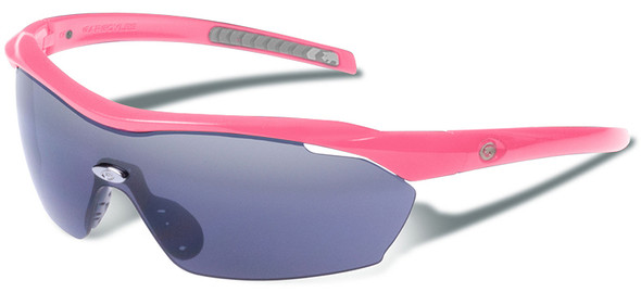 Gargoyles Pursuit Safety Sunglasses with Fuchsia Frame and Smoke Lens