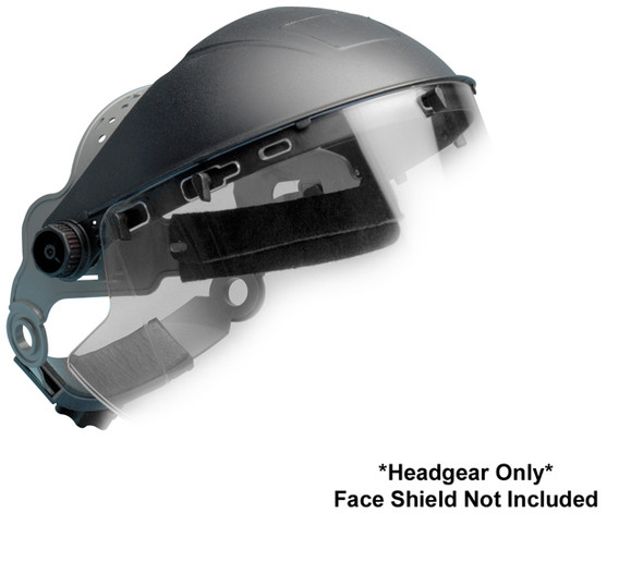 Elvex UltiMate Heavy Duty Ratchet Headgear for Universal Face Shields