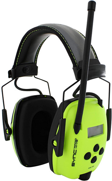 Howard Leight Sync Hi-Viz Digital Radio Ear Muff NRR 25 1030390