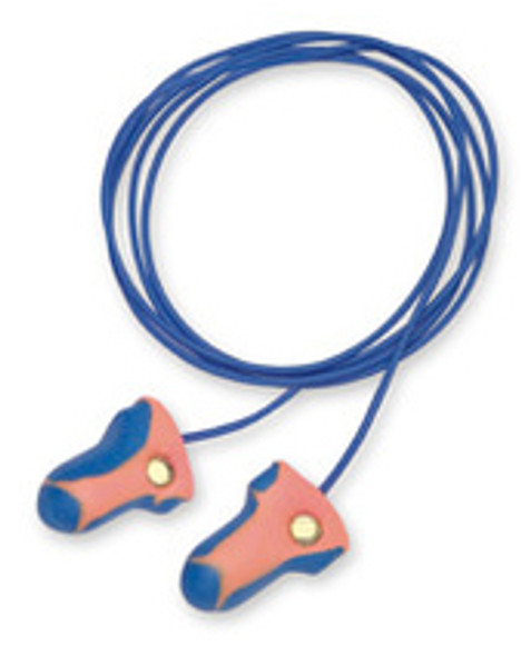 Howard Leight Laser Trak Corded Detectable Ear Plugs NRR 32