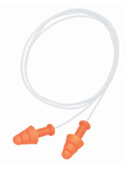 Howard Leight SmartFit SMF-30 Reusable Ear Plugs with Detachable Cord NRR 25 (100-Pr Box)