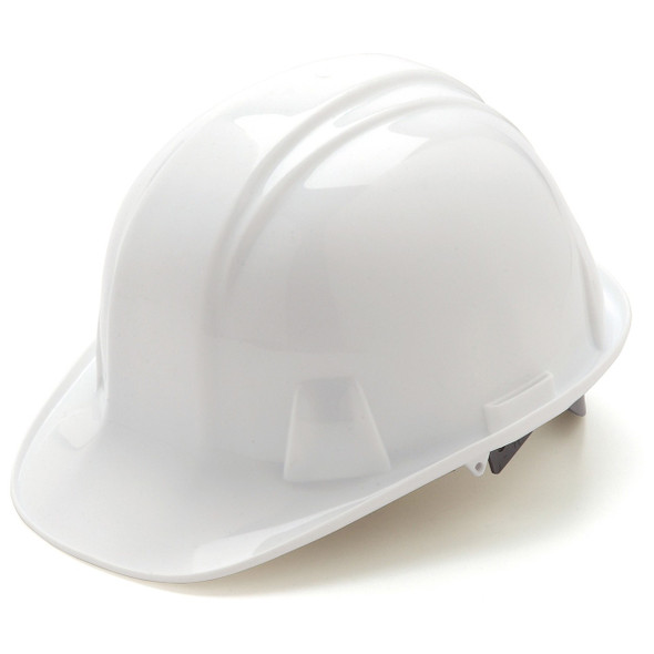 Pyramex Cap Style Hard Hat with 4-Point Ratchet Suspension Front