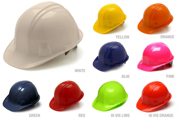 Pyramex Cap Style Hard Hat with 4-Point Ratchet Suspension HP141X