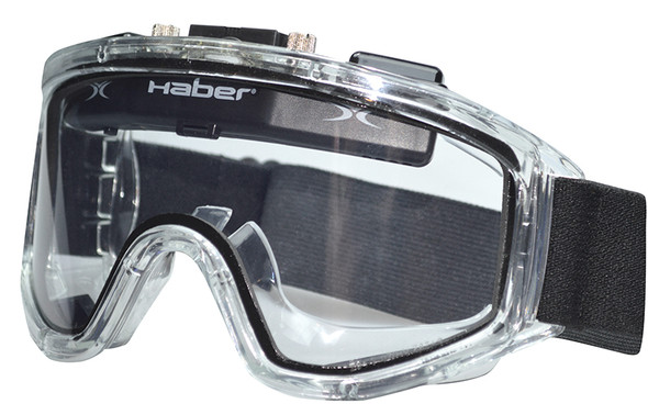 Haber Liquidator Splash Goggle with Dual Clear Lens and Eliminator Fan HS-12140