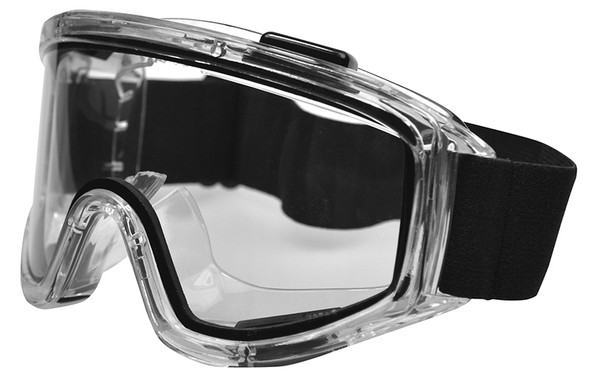 Haber Liquidator Splash Goggle with Clear Dual Lens (Without Eliminator Holes) HS-12153