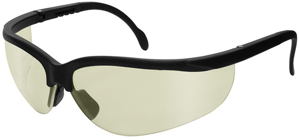 Radians Journey Safety Glasses with Black Frame and Indoor/Outdoor Lens