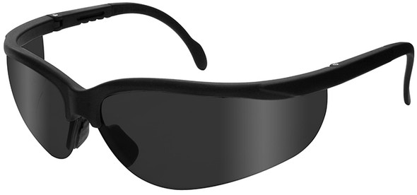 Radians Journey Safety Glasses with Black Frame and Smoke Lens JR0120ID