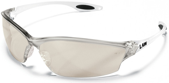 Crews Law 2 Safety Glasses with Indoor/Outdoor Lens