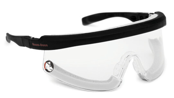 Guard Dogs Purebred Safety Glasses with High Heat Foam and Clear Lens