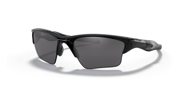 Oakley Half Jacket 2.0 XL Sunglasses with Polished Black Frame and Black Iridium Lenses OO9154-01