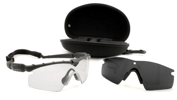 Oakley SI Ballistic M Frame 2.0 Strike Array with Black Frame and Clear and Grey Lenses 11-138