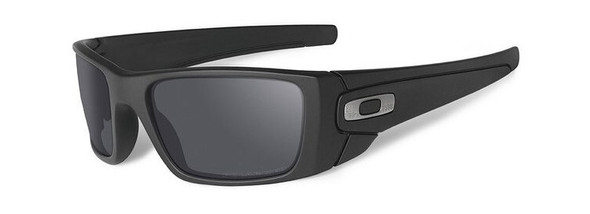 Oakley SI Cerakote Fuel Cell with Graphite Black Frame and Black Iridium Polarized Lenses OO9096-B3