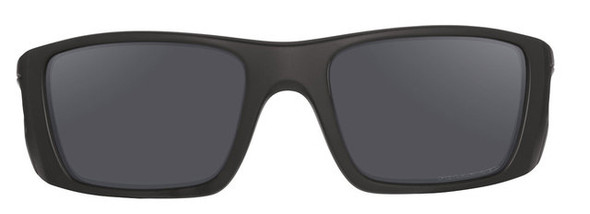 Oakley SI Cerakote Fuel Cell with Graphite Black Frame and Black Iridium Polarized Lenses