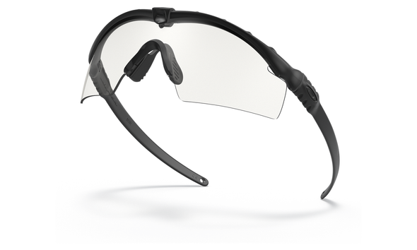 Oakley SI Ballistic M Frame 3.0 Array with Black Frame and Clear and Grey Lenses OO9146-03 Profile View