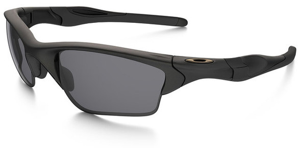 Oakley SI Half Jacket 2.0 XL with Matte Black Frame and Grey Lens
