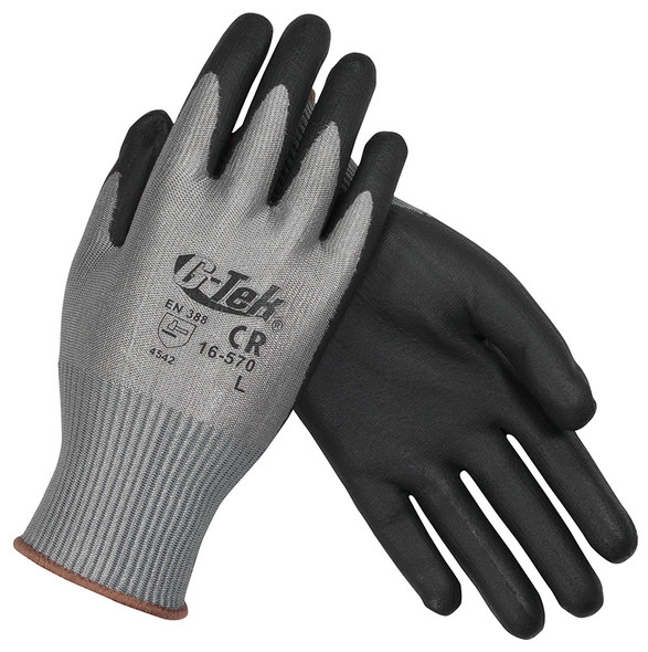 PIP 16-570 G-Tek PolyKor Seamless Knit PolyKor Blended Gloves