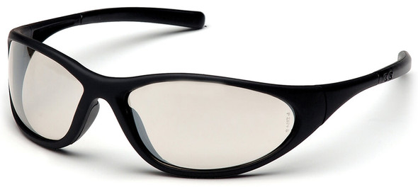 Pyramex Zone 2 Safety Glasses with Black Frame and Indoor/Outdoor Lens