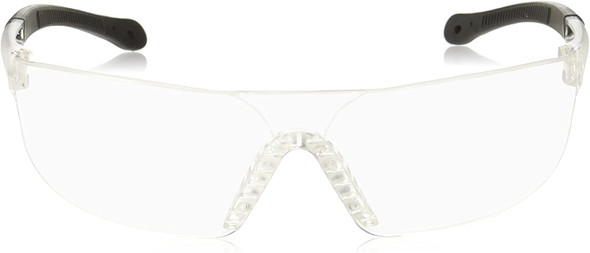 Radians Rad-Sequel Safety Glasses with Clear Anti-Fog Lens RS1-11 Front