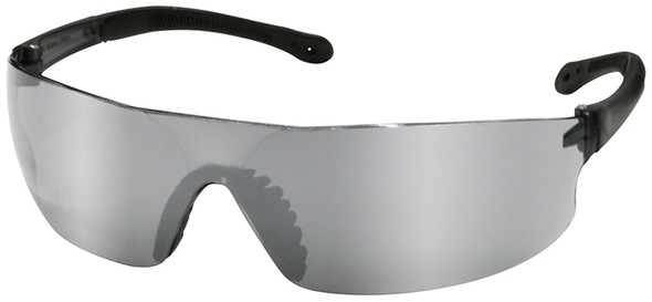 Radians Rad-Sequel Safety Glasses with Silver Mirror Lens RS1-60