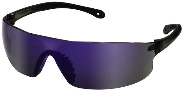Radians Rad-Sequel Safety Glasses with Blue Mirror Lens