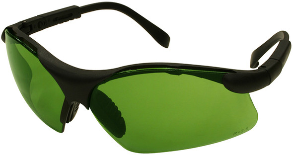 Radians Revelation Safety Glasses with Black Frame and Shade 2 Lens
