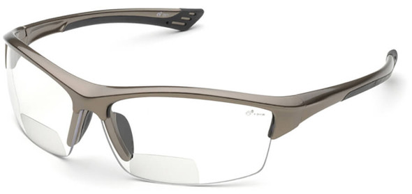 Elvex Sonoma RX-350 Bifocal Safety Glasses with Clear Lens