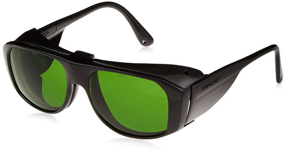 Uvex Horizon Safety Glasses with Shade 3 Flip-Up Lens S212 Front