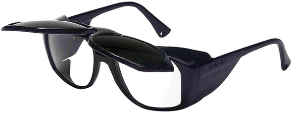 Uvex Horizon Safety Glasses with Shade 5 Flip-Up Lens S213