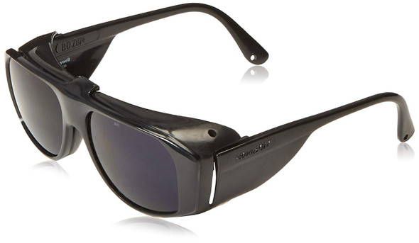 Uvex Horizon Safety Glasses with Cobalt Blue Flip-Up Lens S214