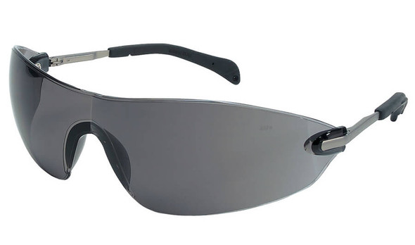 Crews Blackjack Elite Safety Glasses with Gray Lens S2212